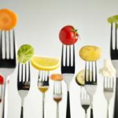 Veggies-on-Forks